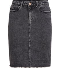 jeanskjol onleliza reg rawedge dnm skirt