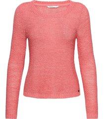 onlgeena xo l/s pullover knt noos stickad tröja rosa only