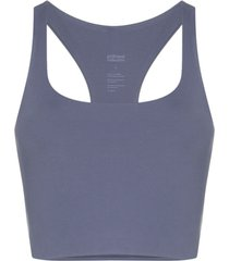 girlfriend collective top esportivo paloma - azul