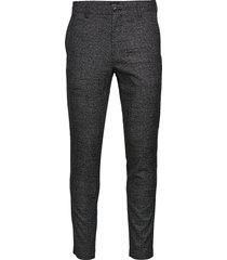 paton jersey pant kostymbyxor formella byxor grå matinique