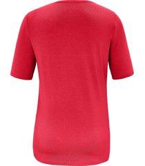 t-shirt korte mouwen van anna aura rood