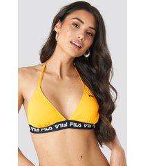 fila sally bikini top x na-kd - yellow