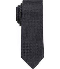 corbata de poliéster unicolor diseño de cuadros para hombre 02151