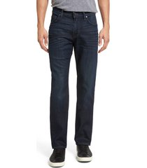 men's 7 for all mankind the straight airweft slim straight leg jeans, size 38 - blue