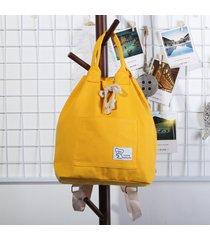 4c4cece85542ac donna zaino in tela impermeabile con laccio miultifunzionale con grange  capacità borsa a secchiello