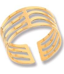 anel le diamond marcela aro ondulado dourado