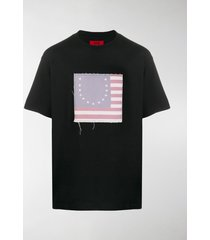 424 flag patch t-shirt