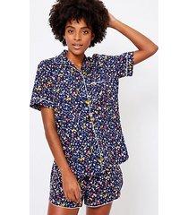 loft heart pajama top
