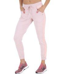 calça vestem jogging negroni - feminina - rosa claro