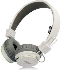 audífonos gamer, nia x2 gaming estéreo hd manos libres original auriculares bluetooth libre plegables deportivos con micrófono de apoyo tf tarjeta de radio fm (blanco)