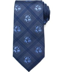 harry potter hogwarts plaid men's tie
