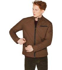 chaqueta hombre marrón esprit