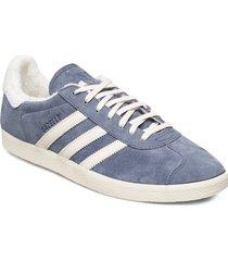 gazelle låga sneakers blå adidas originals