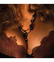 ambra lingerie bh's dunes push up bh zwart 0478