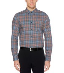 perry ellis men's cotton dobby shirt