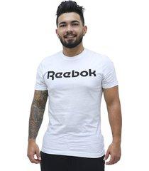 camiseta linear logo reebok