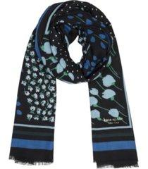 kate spade new york women's sea breeze patchwork oblong scarf