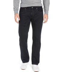 men's tommy bahama antigua cove authentic straight leg jeans, size 42 x 34 - black