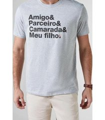 camiseta pai camarada reserva - masculino