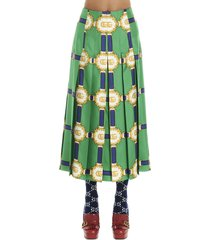 gucci gg doubloon skirt