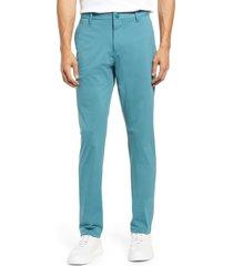 men's rhone commuter slim fit pants, size 40 - blue