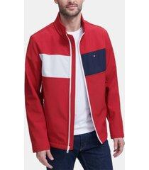 tommy hilfiger men's soft shell jacket