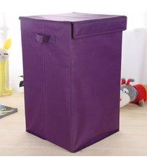 korean 210d tela oxford caja de almacenamiento storage box caja de almacenamiento organizador perfecto púrpura