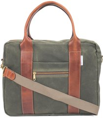 boarding pass flight briefcase - green