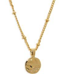 women's gorjana shorebreak coin pendant necklace