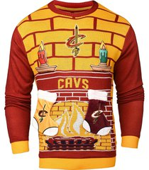 nba cleveland cavaliers 3d unisex adult ugly sweater detachable candle stocking