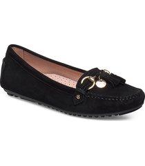parma tassel loafers låga skor svart novita