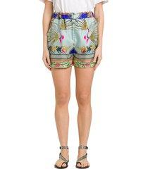 etro anemone shorts