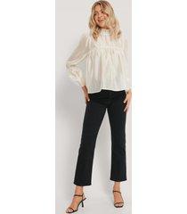 rut&circle hanna blouse - beige