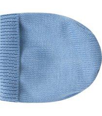 little bear light blue hat for babykid