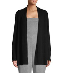 open front cashmere cardigan