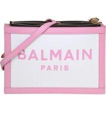 balmain three pouches 22 bag in canvas