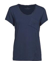 day clean twist t-shirts & tops short-sleeved blå day birger et mikkelsen