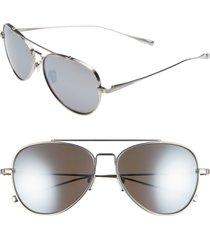 men's salt. 60mm titanium polarized sunglasses -