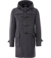 gloverall morris duffle coat | grey | mc3512-grbl