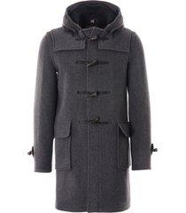 gloverall morris duffle coat   grey   mc3512-grbl