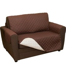 funda doble faz de 2 puestos para proteger su sofá couchcoat