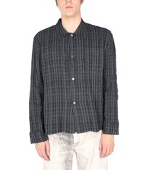 our legacy striped textured shirt