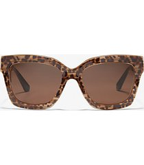 mk occhiali da sole berkshires - ghepardo (marrone) - michael kors