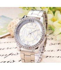 michael kors ladies silver tone crystal diamond bling runway womens wrist watch