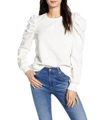 women's rebecca minkoff janine sweatshirt, size x-large - ivory
