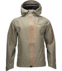 chaqueta snow raptor b-dry hoody verde militar lippi