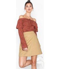 nly trend cargo skirt minikjolar