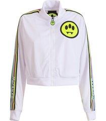barrow logo-print jacket