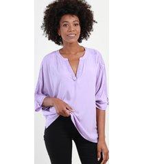 blusa con lentejuelas alicia lila night concept