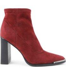 bcbgeneration women's anlico block heel bootie women's shoes